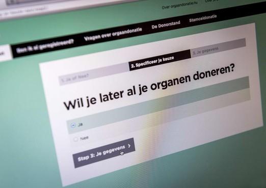 Commentaar: Vreugde over bescheiden toename donorregistraties ook een beetje om te huilen