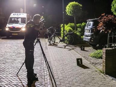 Traumahelikopter voor gevallen vrouw in Bunschoten-Spakenburg