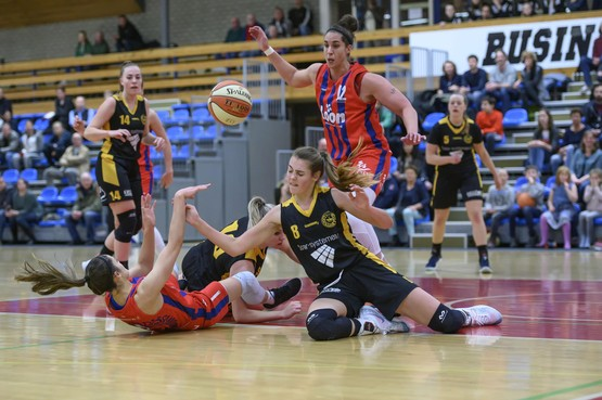 'Behoorlijke onvoldoende' voor basketbalsters Lions