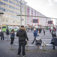 Het omstreden Leidse busstation.