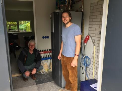 Abbekerker heeft goudmijn vol energie voor zijn huis