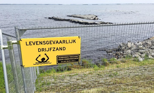 Loswal voor dijkversterking Markermeerdijken stort in