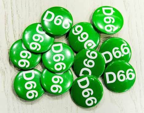 Afdelingen D66 binnen BUCH fuseren