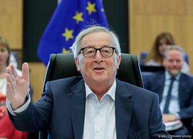 Juncker niet bij G7-top na operatie