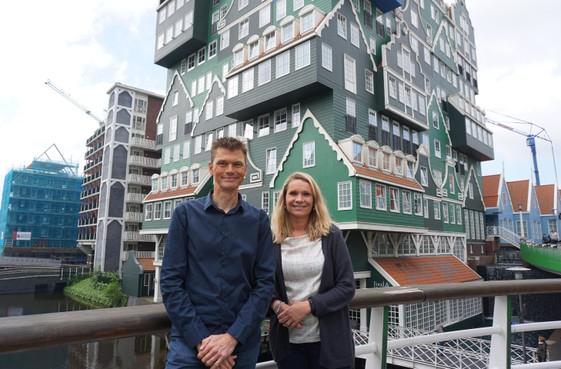 24 uur op de fiets voor ziekte van Huntington, spontane donaties stromen binnen in Zaandam