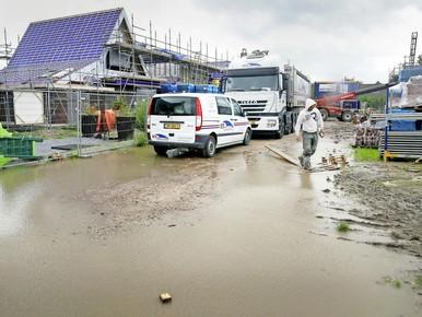 Rijdershof heeft nauwelijks last van storm