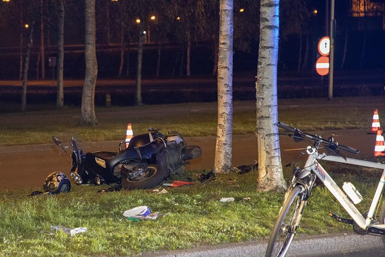 Motorrijder ernstig gewond bij ongeval Westelijke Randweg Schiphol