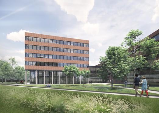 Hogeschool Leiden bouwt een vleugel bij