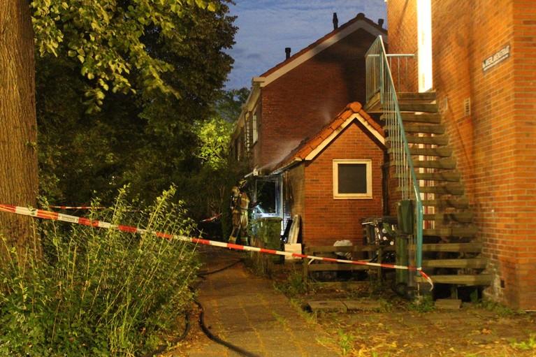 Weer raak bij woning van gevlucht Hoorns gezin: schuur uitgebrand