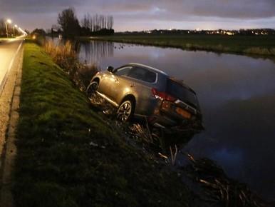 Filemijder rijdt te water in Noordwijk
