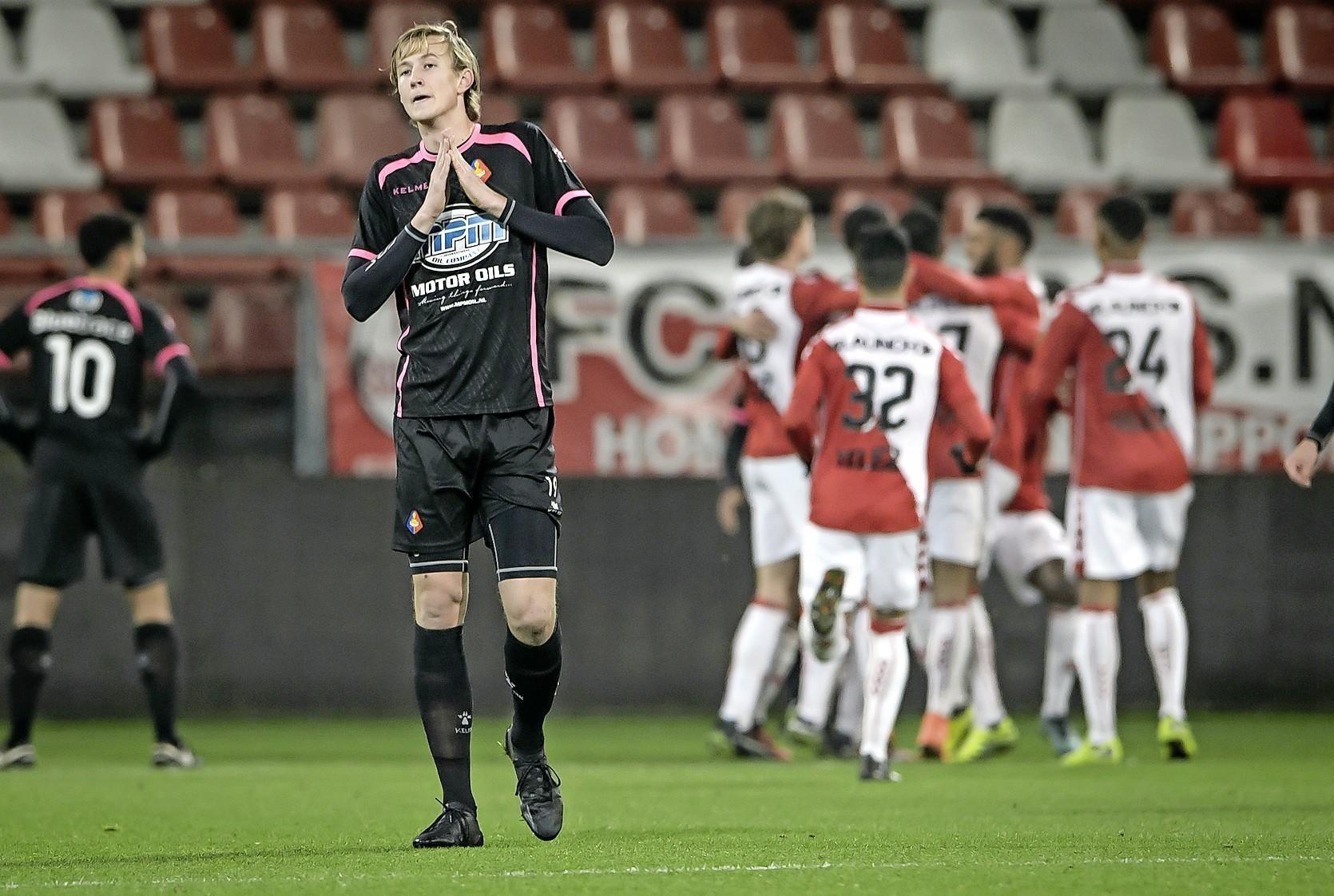 HFC'er Floris van der Linden denkt dat zijn oude ploeg Telstar te kloppen is: 'Het wordt 3-1 voor ons' - Noordhollands Dagblad