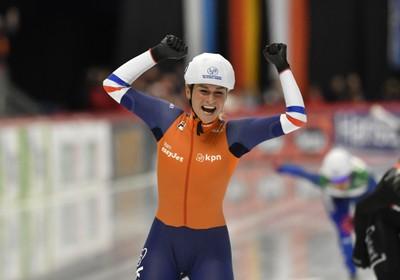Tweede wereldtitel Irene Schouten op massastart
