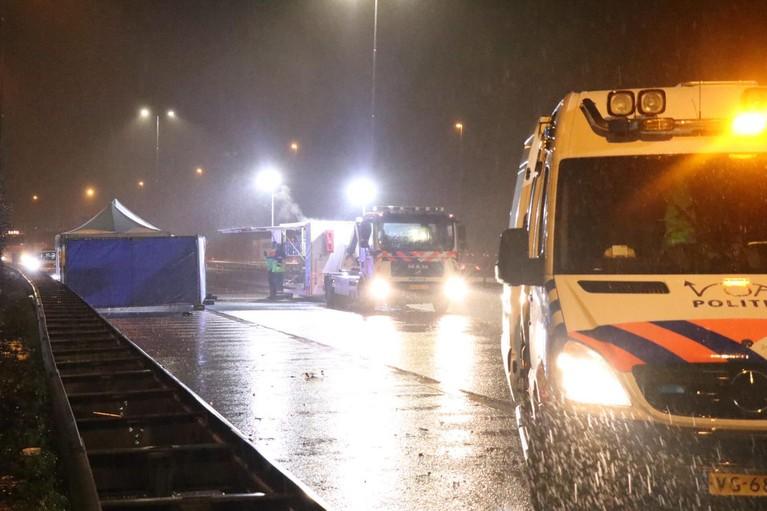 Krommenieër die motorrijder en vriendin doodreed op de A10 bij Oostzaan: 'Ik wilde contact maken en hem laten stoppen om schade af te handelen'