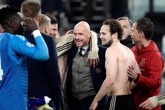 Ajaxtrainer Ten Hag: Wedstrijd tegen Groningen belangrijker dan contract