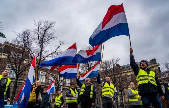 Weer actie Gele Hesjes in Hilversum