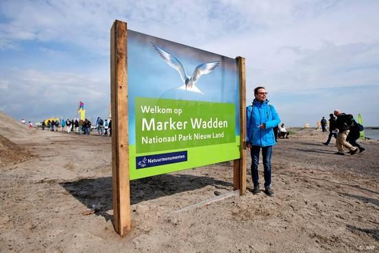 Eerste nederzetting op Marker Wadden