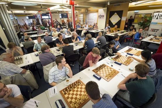 Het Denksportcentrum verdwijnt, maar dit jaar is het Leiden Chess Tournament nog altijd van harte welkom
