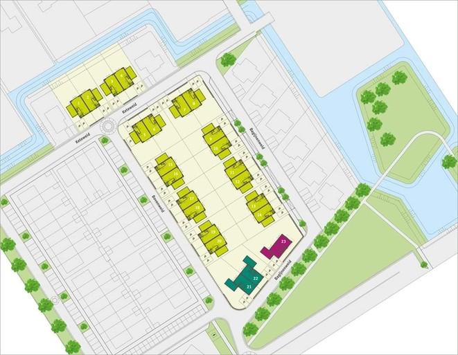 Energiezuinigheid is troef in plan MooiLand, met 23 grotere woningen in Bangert en Oosterpolder