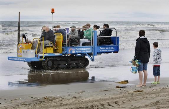Noordwijkse strandrups mag niet meer rijden: 'Vrijwilligers zijn ten einde raad'