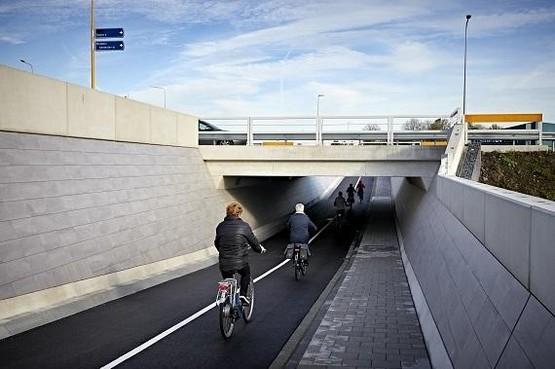 Voorlopig geen paaltjes in fietstunnels Koggenland