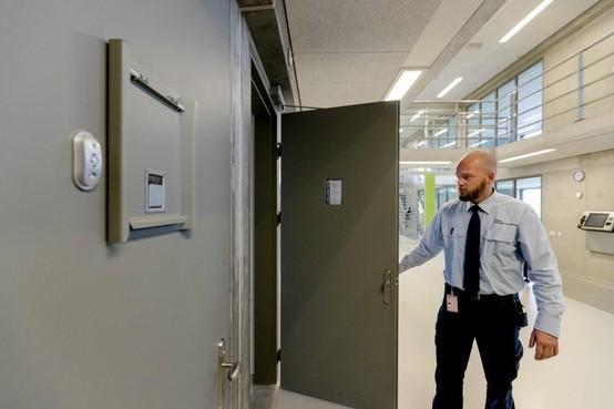 Werkonderbreking bij gevangenis Alphen