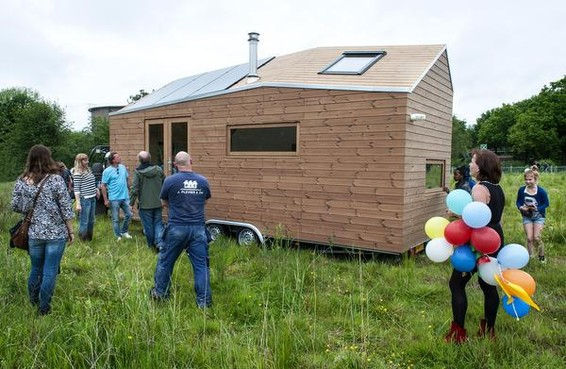 D66: 'Statushouders Laren in Tiny Houses'