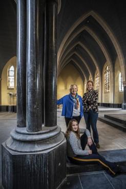 Drie generaties zingen in kapel van Sancta Maria