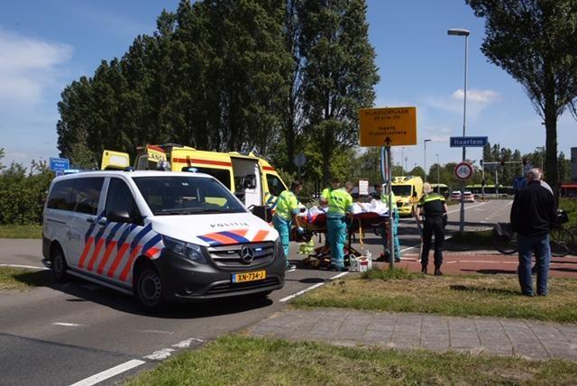Vrouw ernstig gewond bij ongeval met scootmobiel in Santpoort-Noord