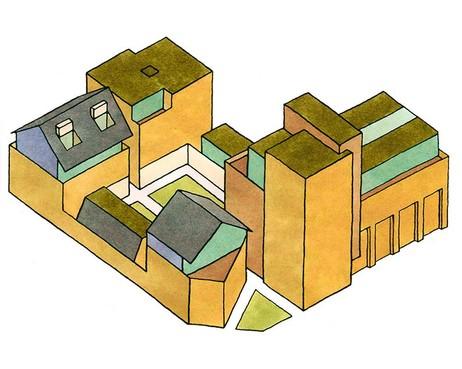 Groen licht bouwplan De Vierhoek in Haarlem: appartementen en woningen met parkeergarage