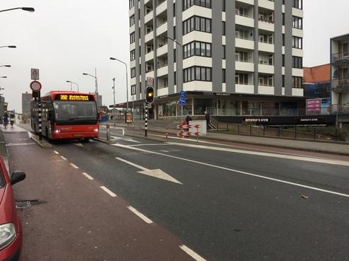 Flinke schade bus na ongeval