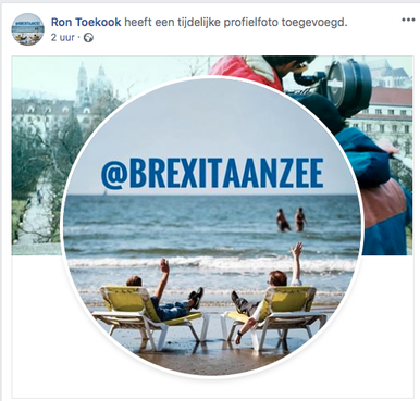 Burgemeester Smit van Beverwijk: 'Trots op feestje Brexit aan Zee'