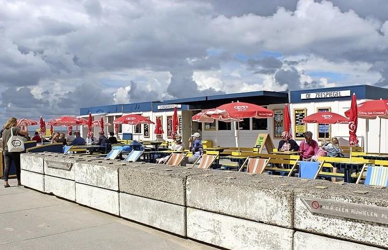 Nostalgie op het Noordwijkse strand: 'Letterlijk en figuurlijk tussen paleizen'