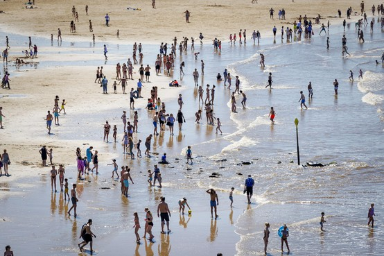 Topzomer voor strandpaviljoenhouders