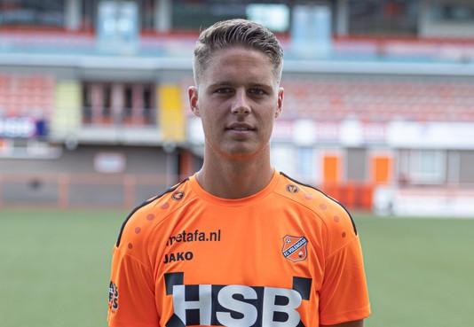 Joey Veerman van FC Volendam vertrekt naar SC Heerenveen