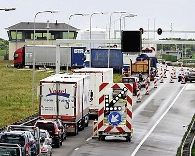 Tot 2023 veel verkeershinder op Afsluitdijk