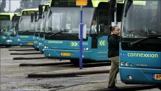 Vertraging busstation Schiphol-Zuid