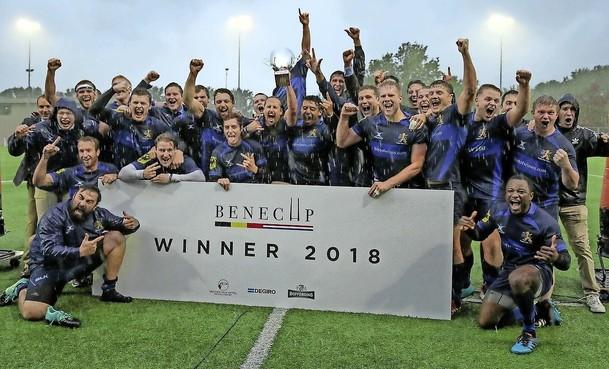 Beoogde nieuwe rugbybondscoach Zane Gardiner hoopt met titel af te zwaaien bij 't Gooi: 'Ik ben zo trots op dit team'