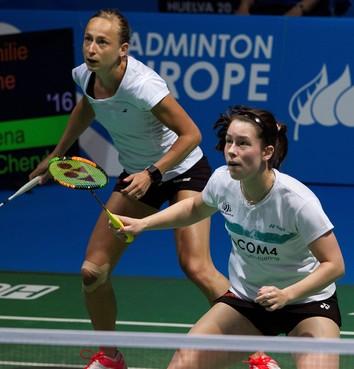 Piek/Seinen niet verder op WK badminton