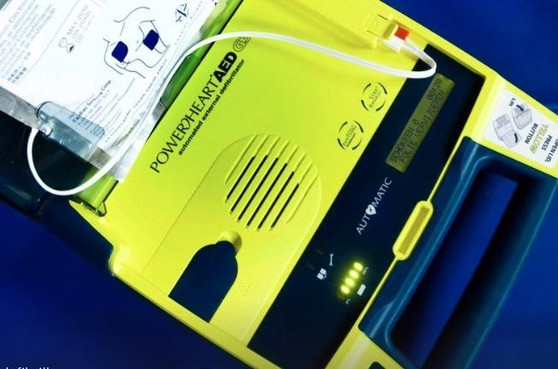 Dekkend netwerk van AED's in Lisse