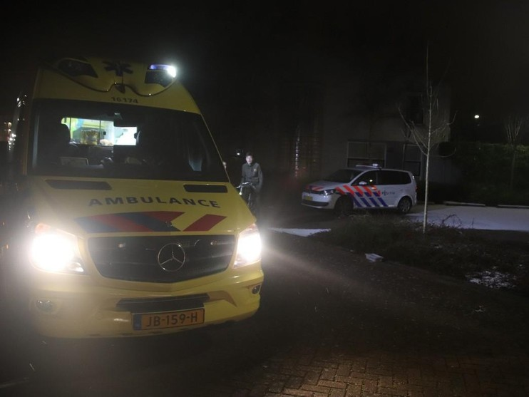 Chauffeur bezorgservice levert boodschappen in Lissese sloot