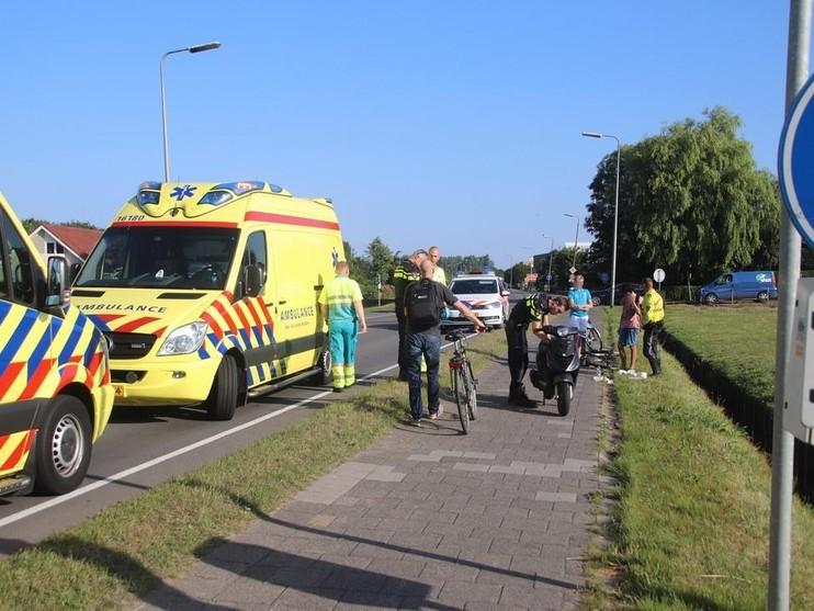 Twee gewonden bij botsing in Rijnsburg