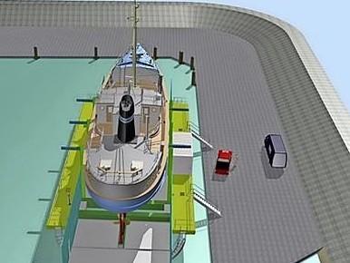Bouw van nieuwe schepenlift Luyt in Den Oever begint in januari