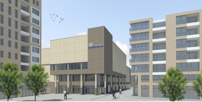 Haarlem-Schalkstad in startblokken: bouw bioscoop begint nog voor de bouwvak