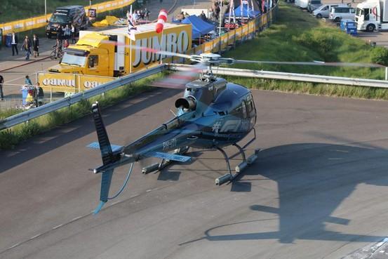 Helikopters mogen naar en boven Jumboracedagen op Zandvoort