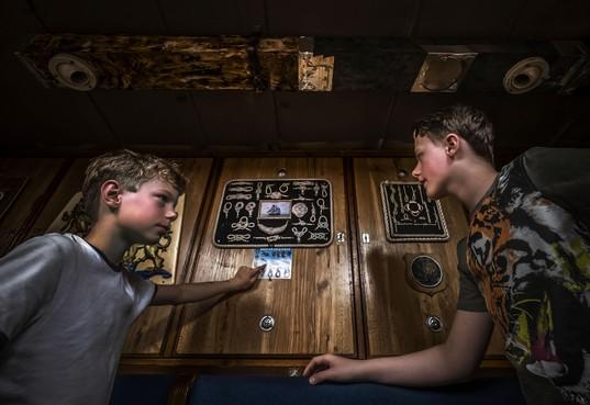 Zeekadetkorps Alkmaar: Welkom aan boord van de Bulgia