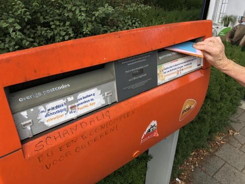 In Blaricum verdwijnen vijf brievenbussen, acht blijven