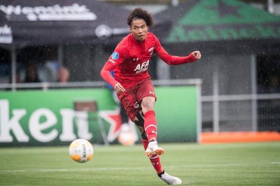 Calvin Stengs (AZ) voor het eerst opgeroepen voor Jong Oranje