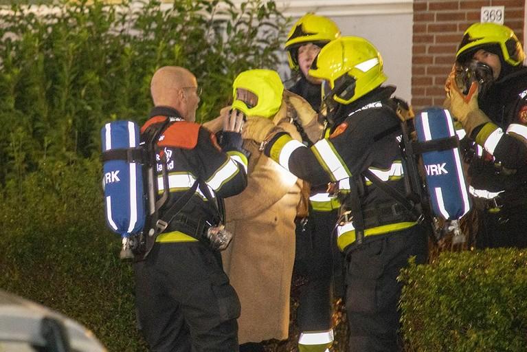 Veel schade bij brand in slaapkamer van appartement in Haarlem