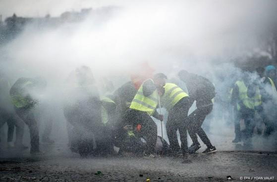 Arrestaties in Parijs bij protest gele hesjes