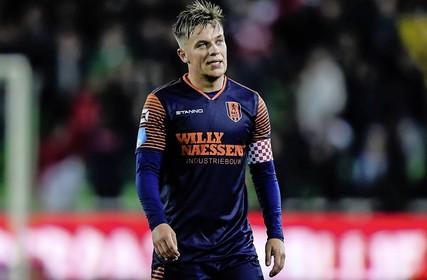 Daan Rienstra met RKC tegen Ajax: 'Het is alleen maar leuk om tegen dit soort voetballers te spelen'